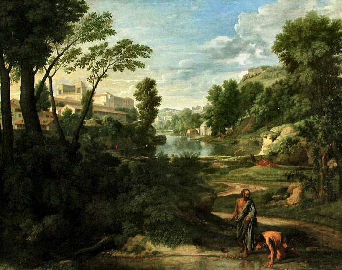 Poussin-Diogenes